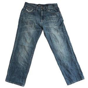 Ecko Unltd Medium Denim Wash Jeans Baggy Fit 32/30